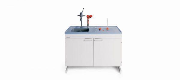 میز شستشوی آزمایشگاهی - کمد سینک