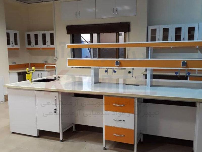 تاسیسات و ملزومات سکوبندی آزمایشگاه