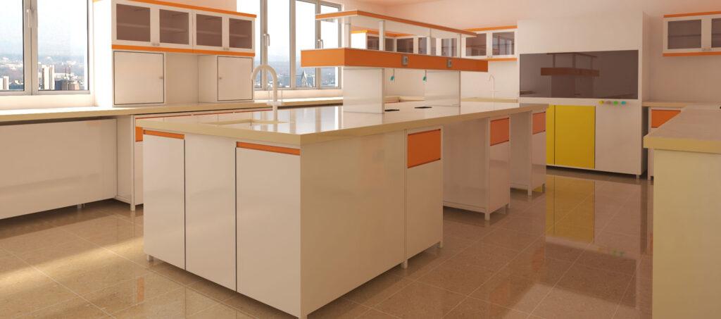 سکوبندی ، میزبندی آزمایشگاهی - کارن لب